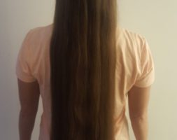 Brown Hair 15 Inches Long