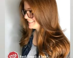 8 Inches Red Hair for Sale