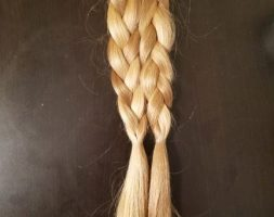12 Inches Blonde hair for sale