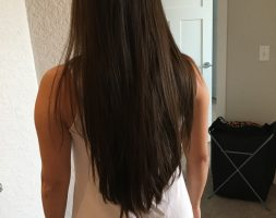 12 Inches Virgin Brown Japanese Hair for Sale