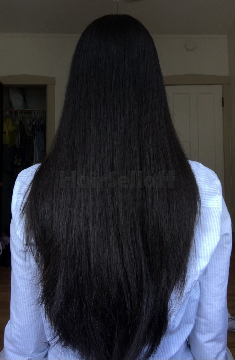 11 Inches Virgin Thick Black Asian Hair Super Soft And Smooth Copy Hairselloff