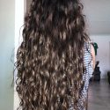 10 inches soft, wavy semi-virgin hair