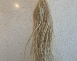 18″ Blonde NBR Beaded Fusion Extensions