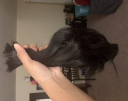 13 inches of blacks hair for sale