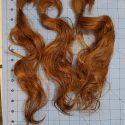 12″ stunning virgin red hair
