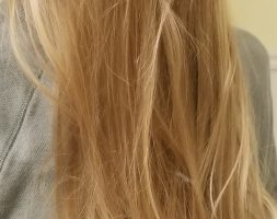 Uncut 13″ Blonde Wavy Hair