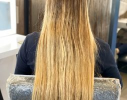 15 inches Virgin Blonde Hair