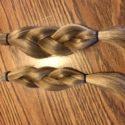 """10"""" Already Cut, Thick, Soft Virgin Blonde Hair"""