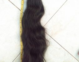 """21 Inches/54cm Asian Black Wavy Virgin Hair"