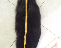 24 Inches/61 cm Asian Black Thick Hair