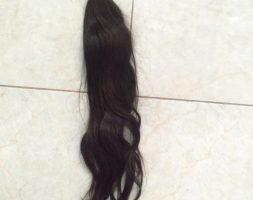 22 Inches/56cm Asian black Hair