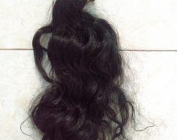 21 Inches / 54cm Asian Black Curly Hair