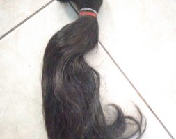 14 Inches/36cm Asian Black Thick Hair
