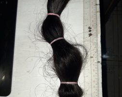 12″ INCHES THICK BLACK STRAIGHT ASIAN HAIR RAW VIRGIN