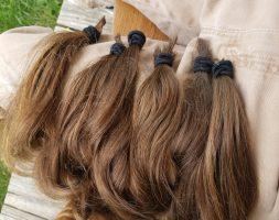 15″ Sandy Blonde/Light Brown Virgin Hair
