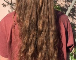 24″ luxurious wavy virgin hair