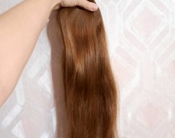 24,4″ Beautiful Child hair, fresh cut, Russian human hair, 3.45oz