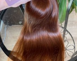 EXCLUSIVE RED HAIR 20,8″ , RUSSIAN HAIR, virgin hair, ponytail, fresh cut, wavy
