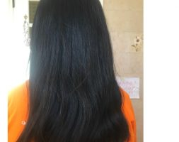 Very Thick Virgin Asian Black Hair 21 Inch, Straight Smooth Hair And Heavy 9 ounce in weight, Lots of Hair !