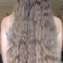 12 Inches of Virgin Blonde Hair for sale