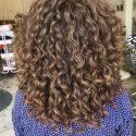 10 Inches Thick Auburn Curly Virgin Hair