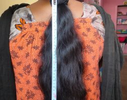 16 inches black Indian hair