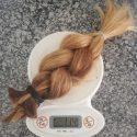 13 inch balayage pregancy hair