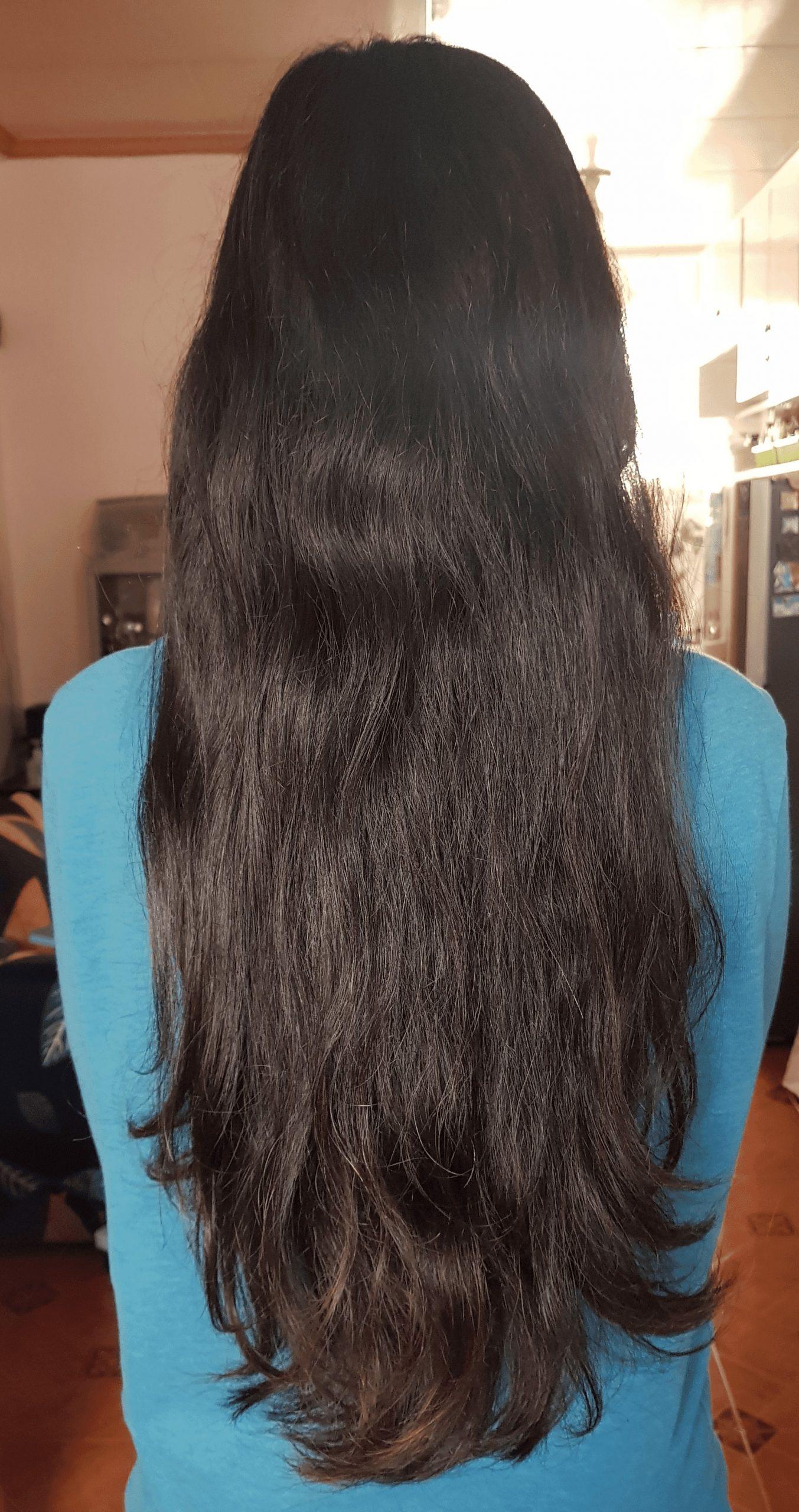 19 – INCH BLACK VIRGIN ASIAN HAIR